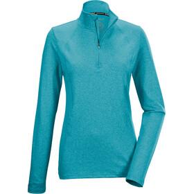 killtec KSW 245 LS Shirt Women, turquoise